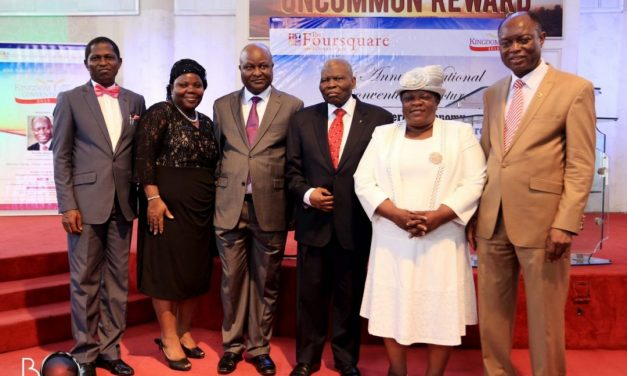 Dr. Christopher Kolade Chairs the 3rd edition of the Foursquare Gospel Church Lectures Series.