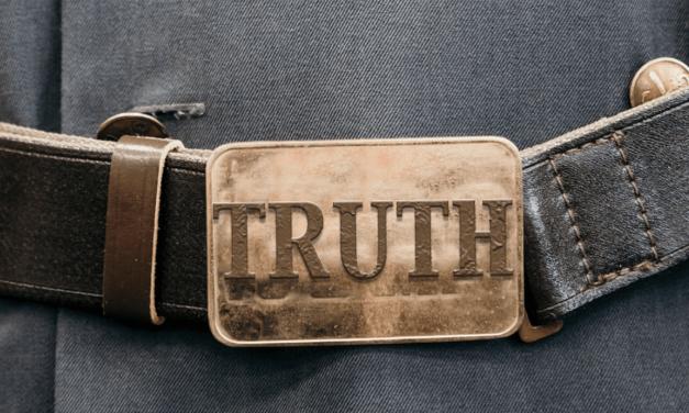 31 ways to pray for teens & children: Day 28. Belt of truth