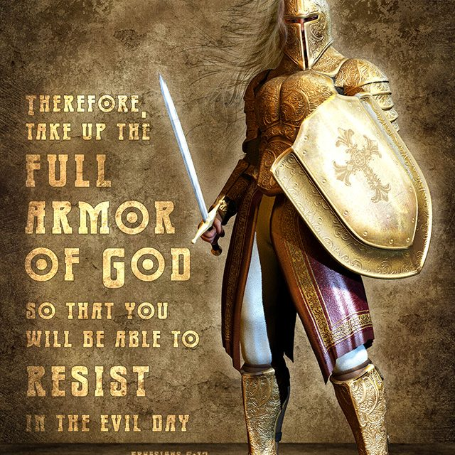 31 ways to pray for teens & children: Day 31. Shield of faith and Sword of the Spirit